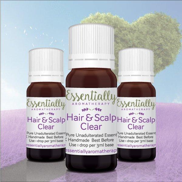 Hair & Scalp Clear Essential Oil Blend