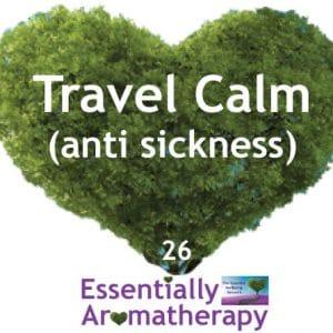Travel Calm Anti-sickness Essential Oil Blend