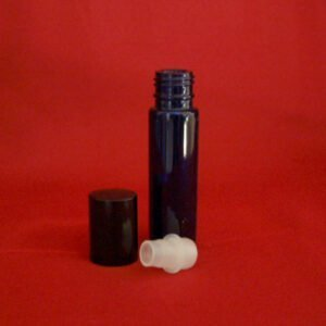 10ml blue glass rollerball