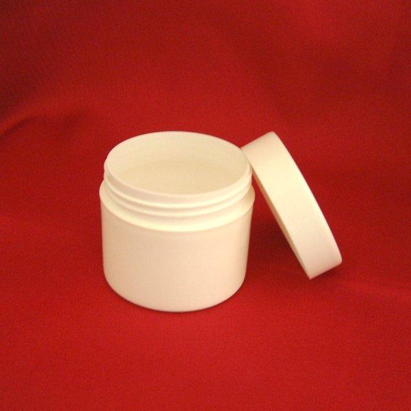 50ml single wall poly pot
