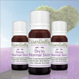 For Dry to Normal Skin Essential Oil Blend
