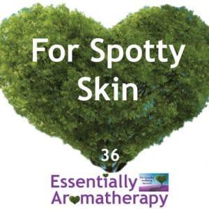 For Spotty Skin Essential Oil Blend