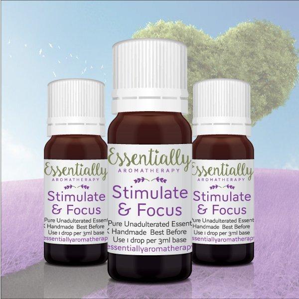 Stimulate & Focus Essential Oil Blend