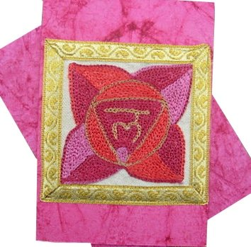 Base / Root Chakra Rainbow Greeting Card