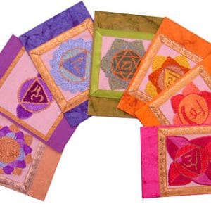 Full set of Chakra Design Greeting Cards
