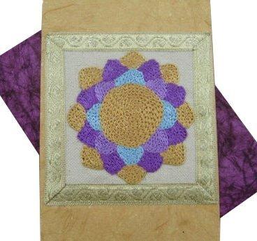 Crown Chakra Rainbow Greeting Card