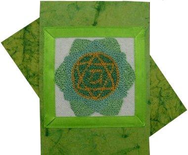 Heart Chakra Rainbow Greeting Card