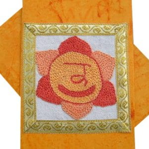 Sacral Chakra Rainbow Greeting Card