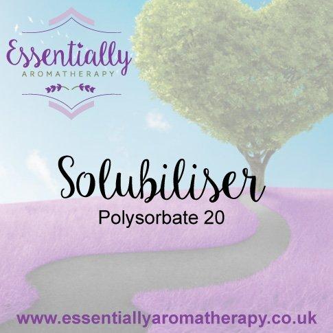 Solubiliser Polysorbate 20 base product