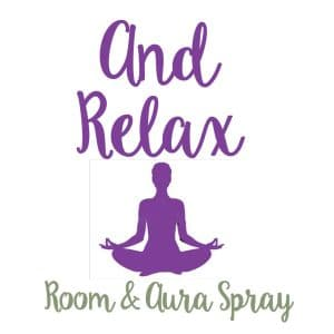 And Relax Room & Aura Spray with Essential Oils