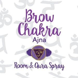 Brow Chakra Room & Aura Spray with Essential Oil Blend