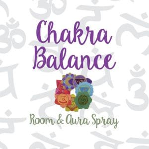 Chakra Balance Room & Aura Spray with Essential Oil Blend