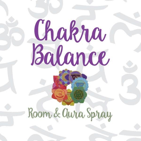 Chakra Balance Room & Aura Spray with Essential Oil Blend