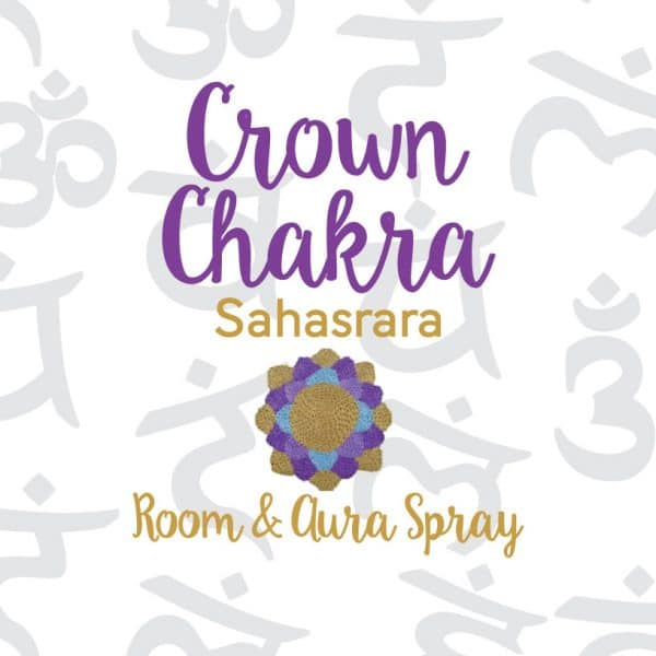 Crown Chakra Room & Aura Spray with Essential Oil Blend