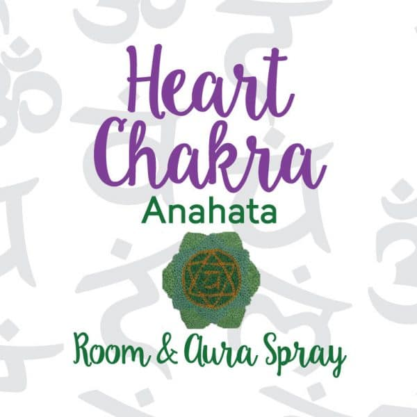 Heart Chakra Room & Aura Spray with Essential Oil Blend