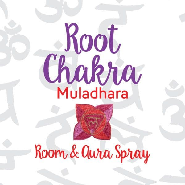 Root Chakra Room & Aura Spray with Essential Oil Blend