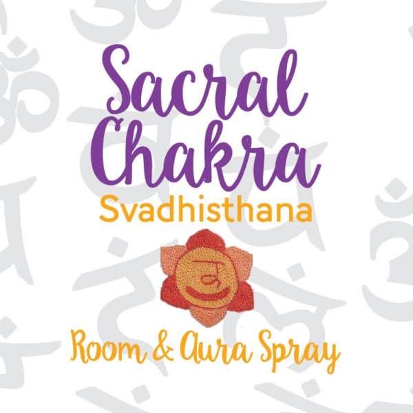 Sacral Chakra Room & Aura Spray with Essential Oil Blend