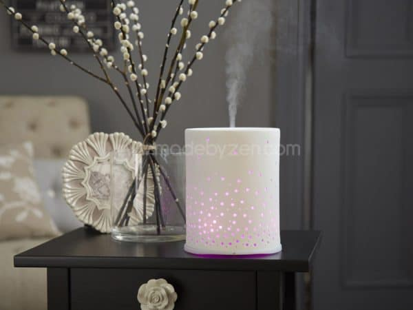 Made by Zen Sophie Ceramic Diffuser with low energy LED bulbs