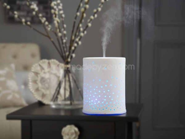 Made by Zen Sophie Ceramic Diffuser with colour changing lights