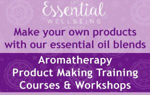 Aromatherapy Product Making courses with The Essential Wellbeing Network