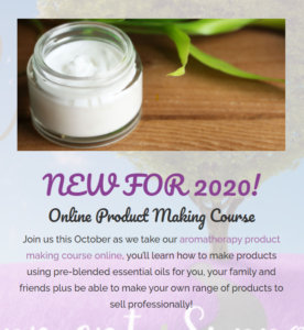 Online Aromatherapy Product Making Course