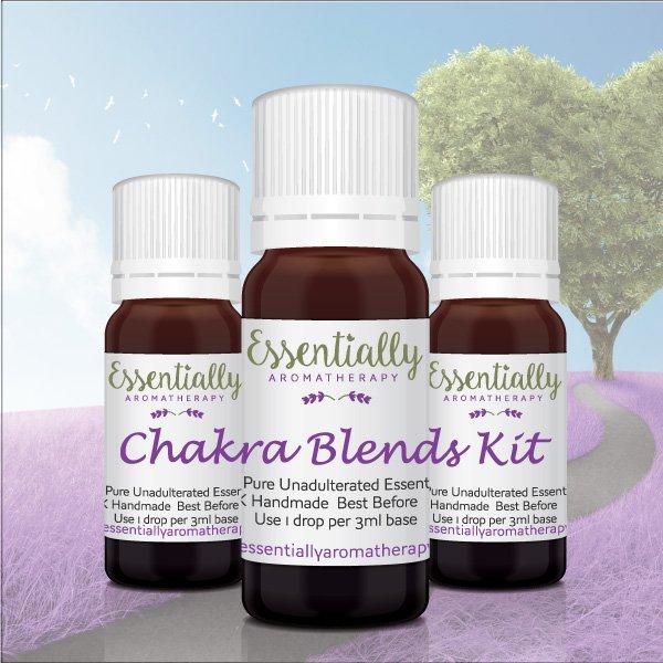 Chakra Blends Essential Oil Kit