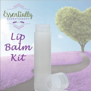 Make your own natural Lip Balm kit with Essential Oils