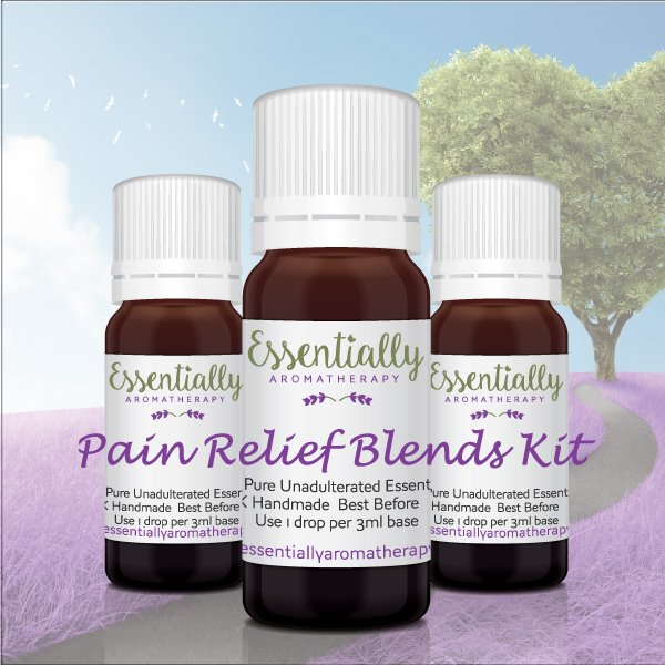 Pain Relief Essential Oil Blends Kit